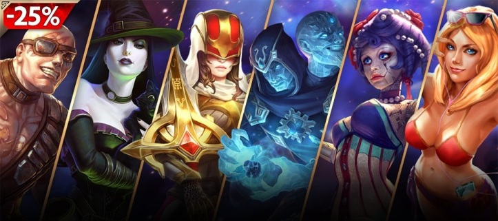 All Chests 25% Off SMITE