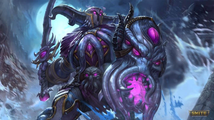 SMITE Abyssal Knight Ares Skin