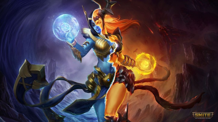 SMITE Order and Chaos Hel Skin