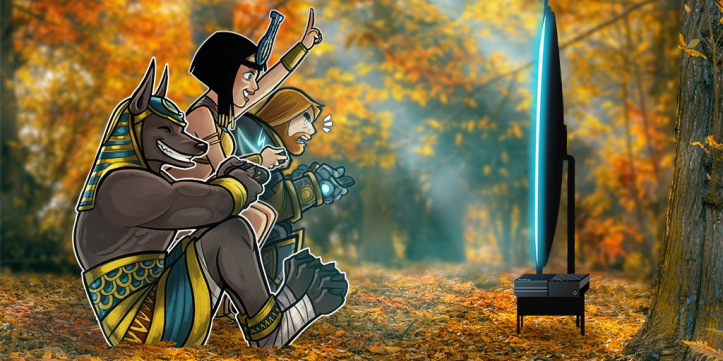 SMITE Party Up Weekend Fall