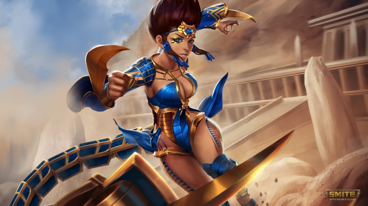 SMITE Serqet New Mastery Skins