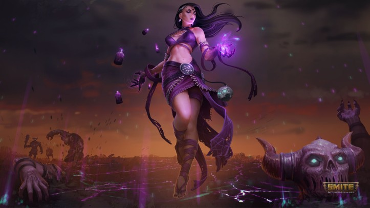 Dark Summoner Nu Wa SMITE
