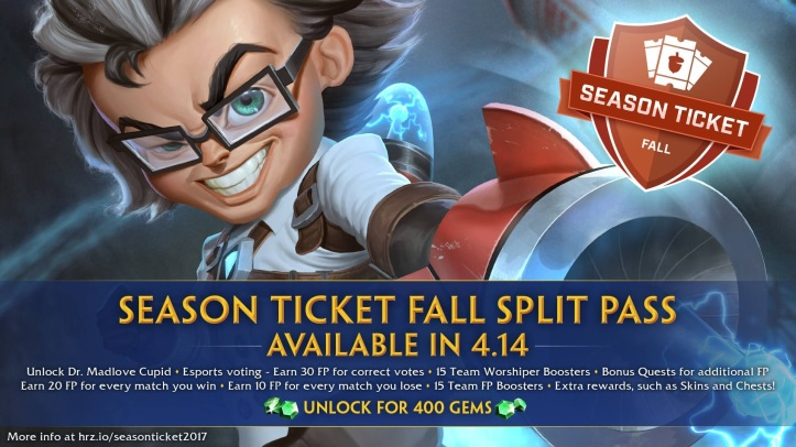 SMITE Fall Split Season Ticket