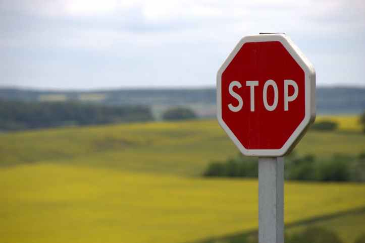 Stock Photo Stop Sign