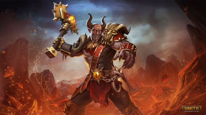 Brimstone Demon Thor SMITE Skin