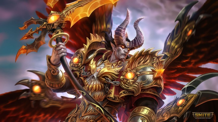 Demonic Thanatos SMITE Skin
