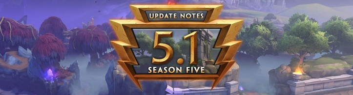 SMITE Season 5 Patch Notes