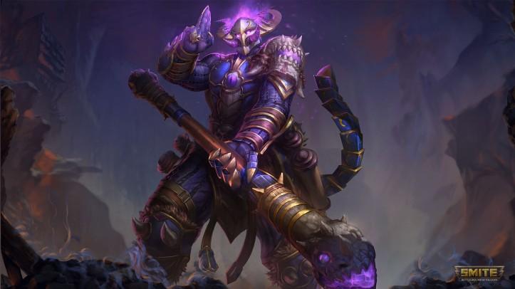 Abyssal Warrior Wukong SMITE Skin