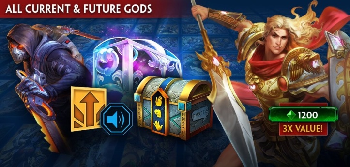 SMITE Legendary God Pack Bundle