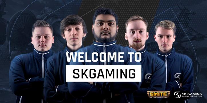 SMITE's SK Gaming Roster Season 5