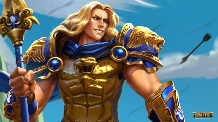 Achilles Mastery Skins SMITE