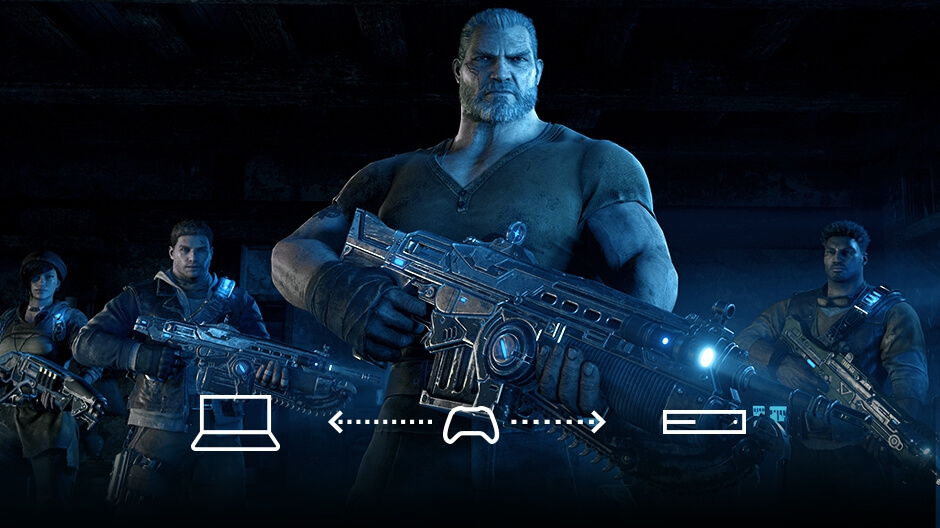 Gears of War 4 Crossplay