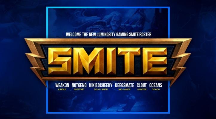 LG SMITE Roster Season 5