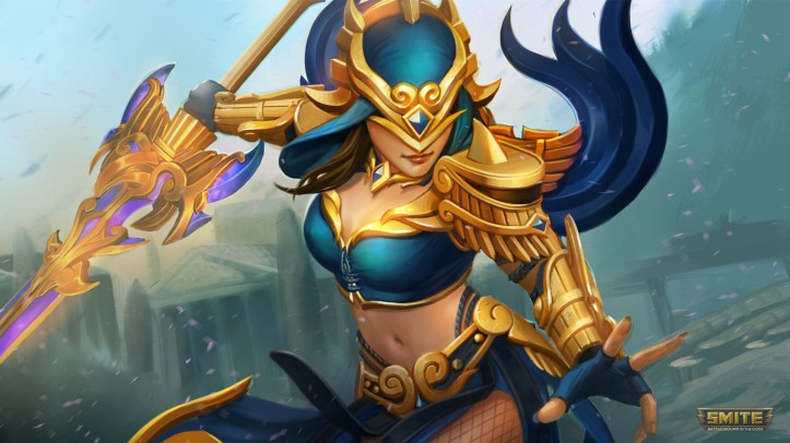 Nemesis New Mastery Skins SMITE