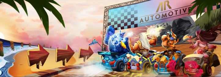 SMITE Apollo's Racer Rumble Adventure