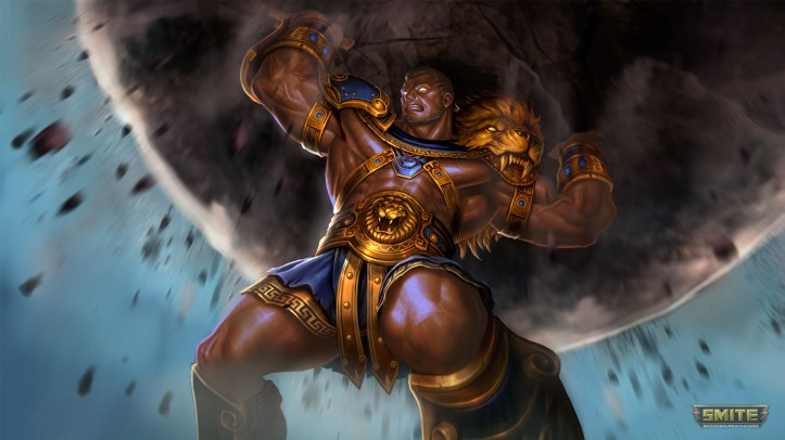 Hercules New Mastery Skins SMITE
