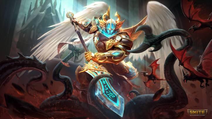 SMITE Celestial Guard Odin Skin
