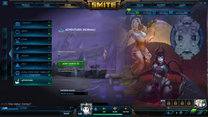 SMITE Multiqueue