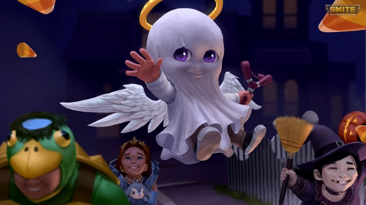 Trick or Treat Cupid Skin SMITE