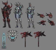 Divine Dragon Bellona Concept Art SMITE 2
