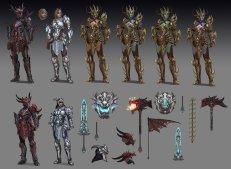 Divine Dragon Bellona Concept Art SMITE 3