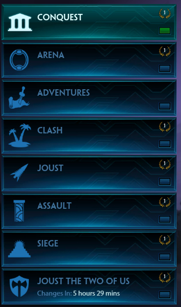 Removing SMITE Game Modes