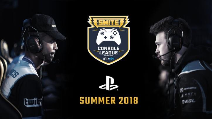 SMITE PS4 League