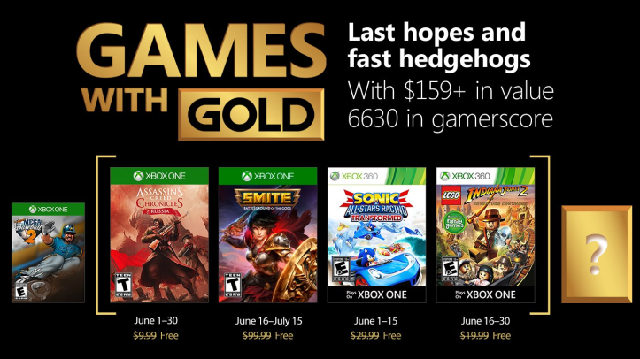 Xbox Live Gold Games June 2018