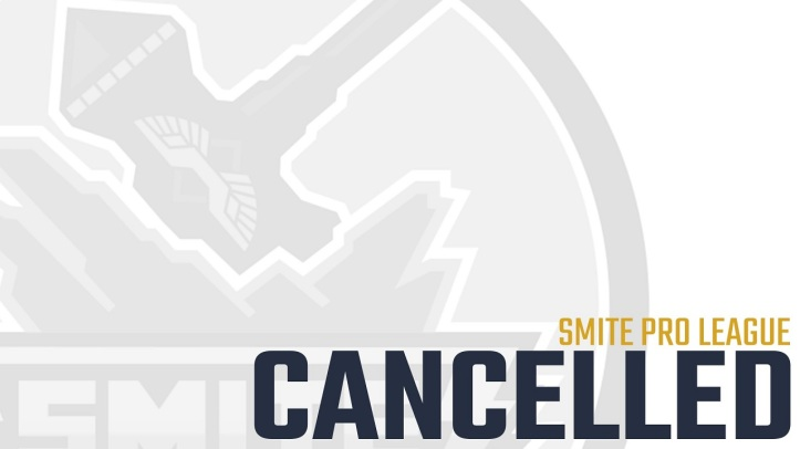 SMITE Pro League Canceled