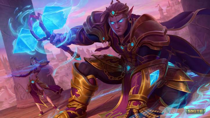 Violet Lord Thor SMITE Skin