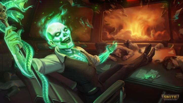 Half-Life Baron Samedi SMITE Skin