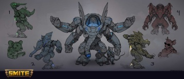 M.O.U.S.E. Force Ganesha Concept Art