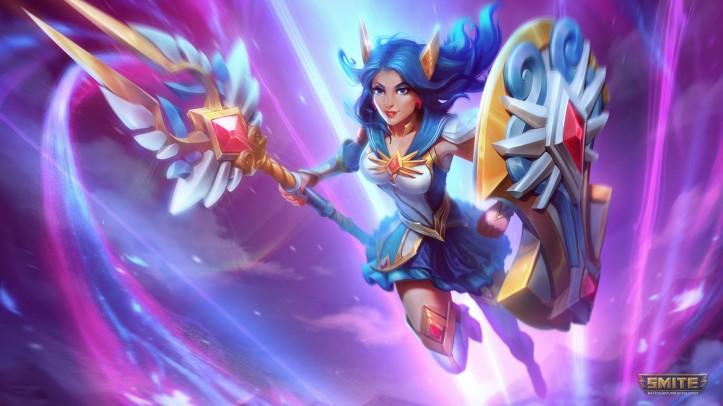 Mystic Guardian Athena Skin SMITE