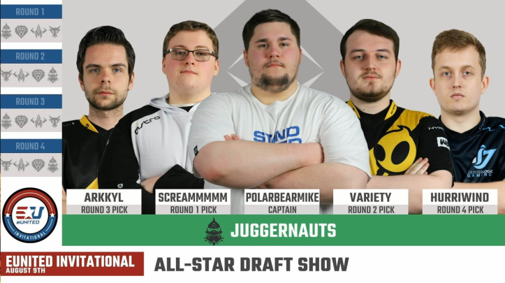eUnited Invitational Juggernauts Roster