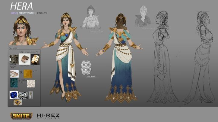Hera SMITE Concept Art