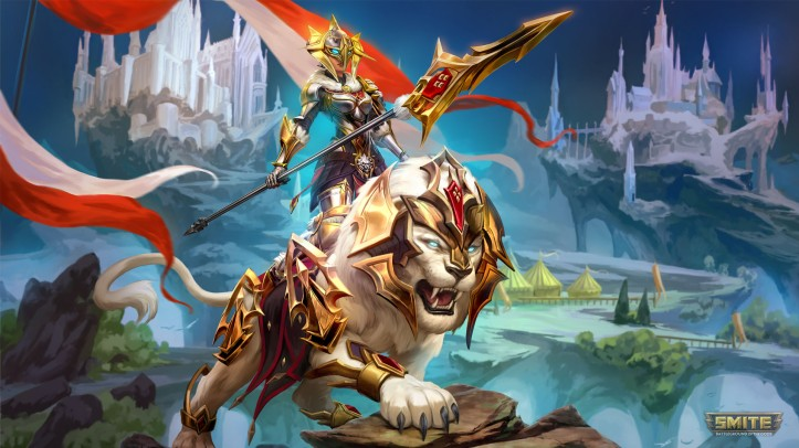 Royal Champion Awilix Skin SMITE
