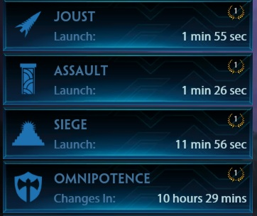 SMITE New Timed Queues