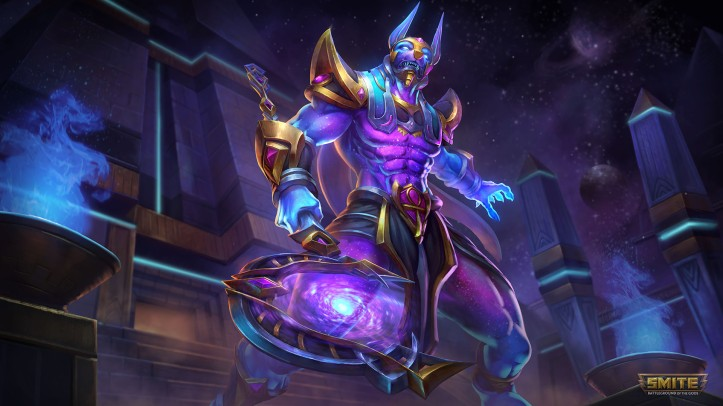 Cosmic Power Anubis Skin SMITE