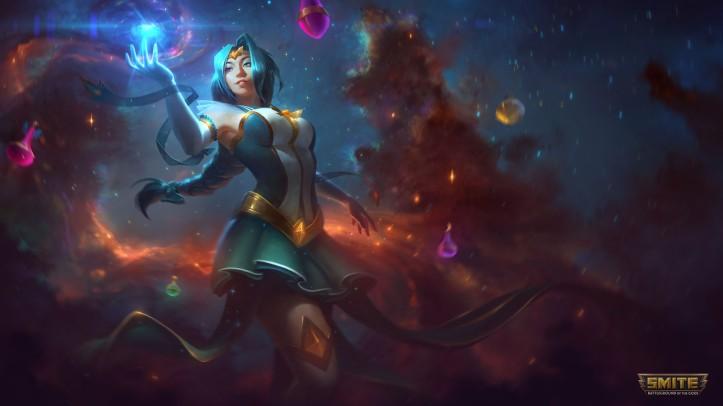 Mystic Enchantress Nu Wa Skin SMITE