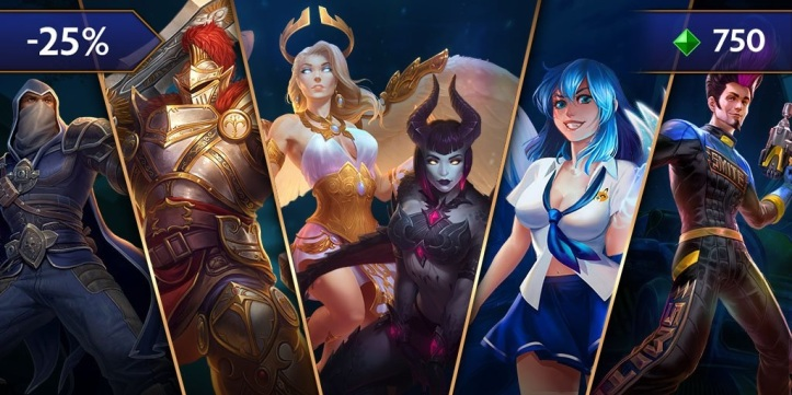 SMITE Adventure Bundles Sale