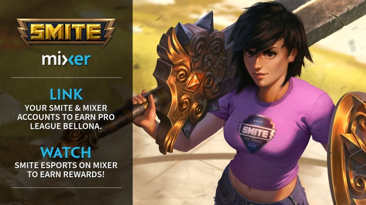 SMITE Mixer Account Linking