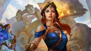 Hera's mastery skins card art