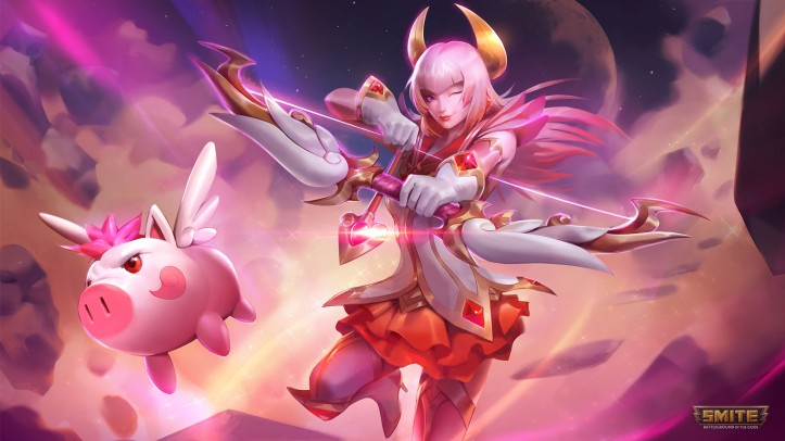 Mystic Archer Artemis SMITE Skin