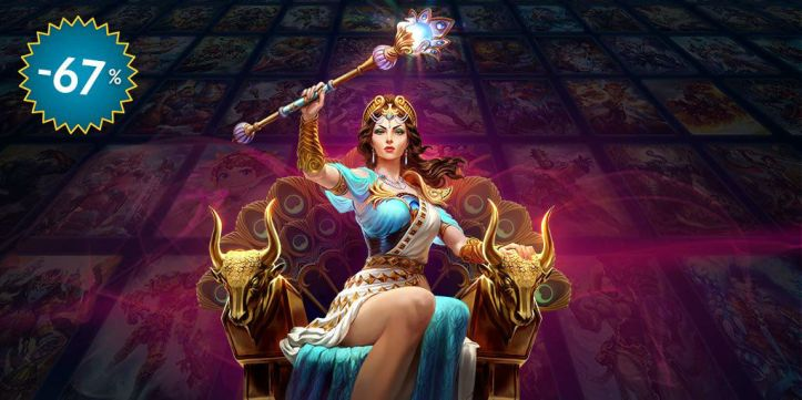SMITE 67 Percent Off God Pack Sale