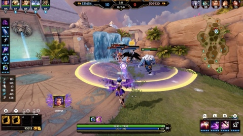 SMITE Nintendo Switch Screenshot